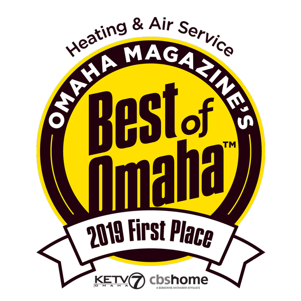 Best of Omaha 2019 Heating Air Service First_Place